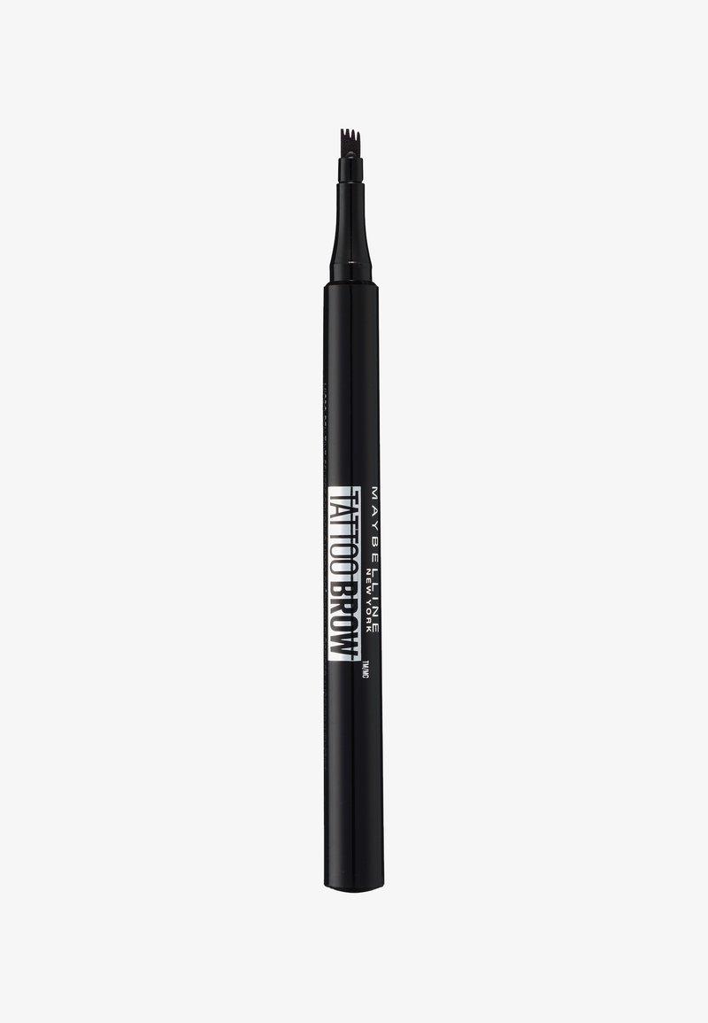 Maybelline New York - TATTOO BROW EYEBROW PENCIL - Eyebrow pencil - 110 soft brown