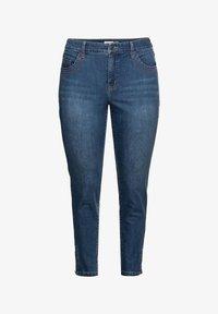Sheego - Jeans Skinny Fit - blue denim - 3