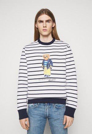 MAGIC - Sweatshirt - white/cruise navy