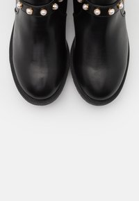 Bianco Wide Fit - BIAPEARL FASHION BOOT WIDE FIT  - Bottines - black - 5