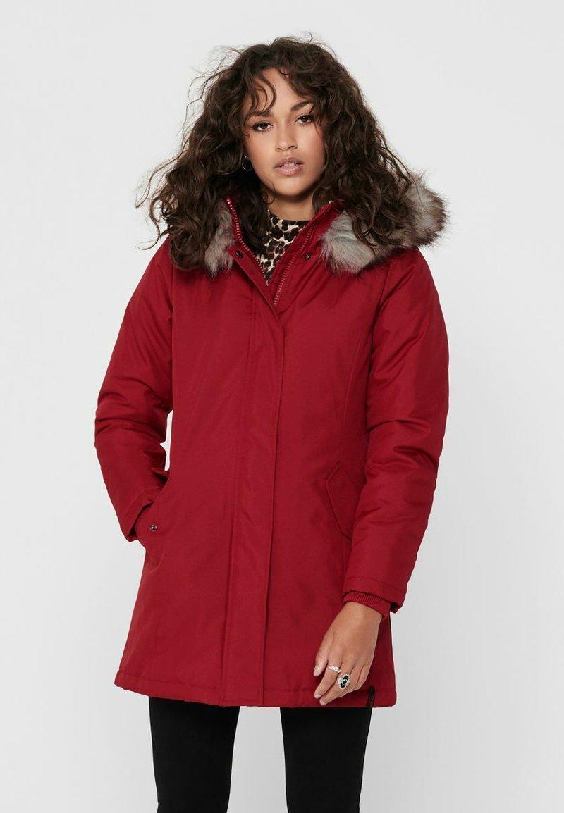 ONLY - ONLKATY  - Winter coat - chili pepper