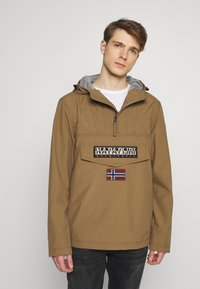 Napapijri - RAINFOREST SUMMER - Windbreaker - kangaroo brown - 0