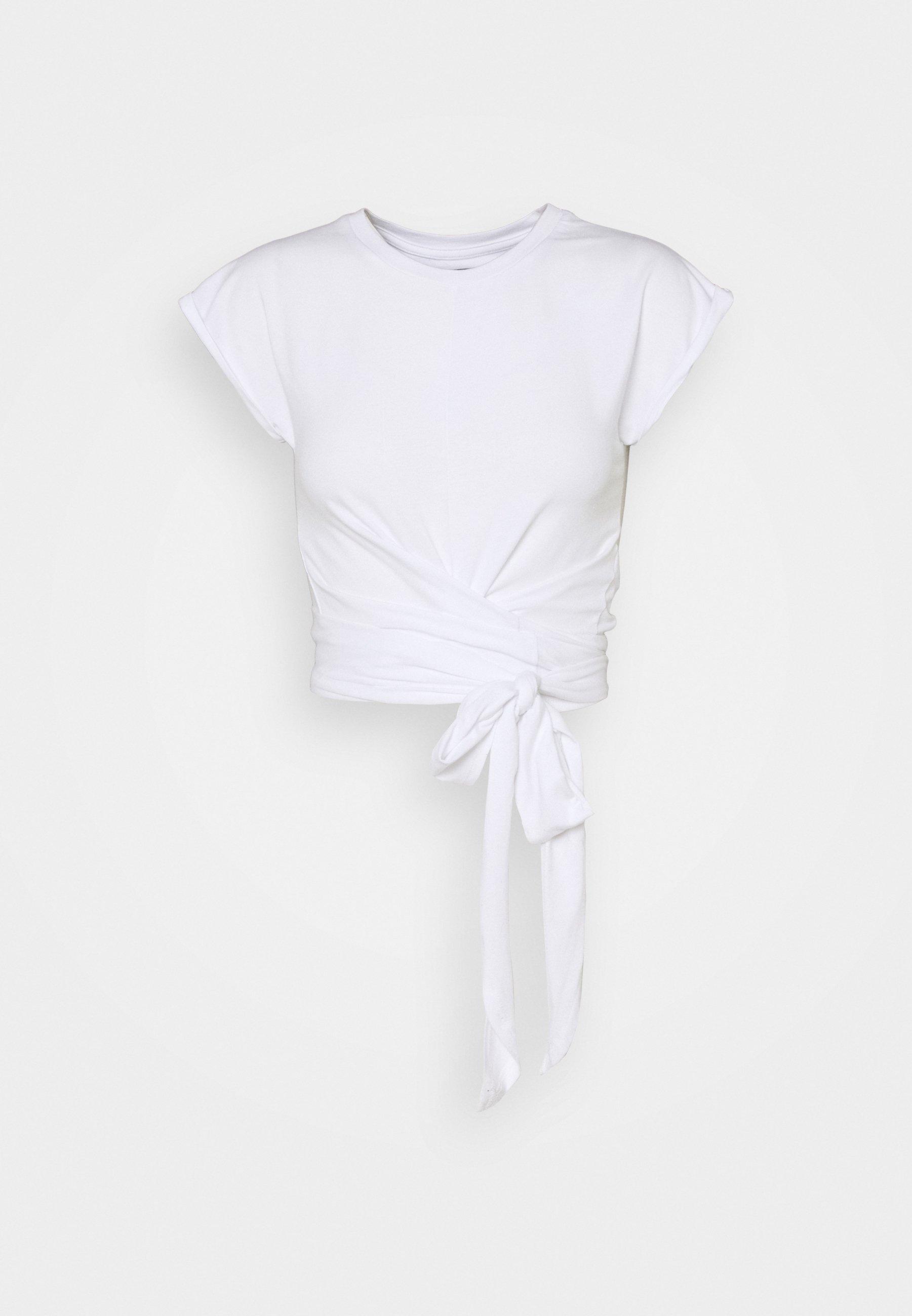 Women TIE FRONT - Print T-shirt