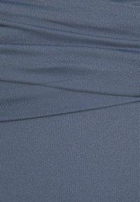 Seafolly - HIGH WAIST WRAP FRONT PANT - Bikini bottoms - granite - 5