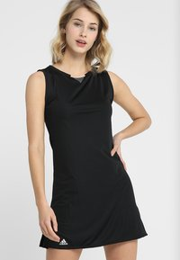 adidas Performance - CLUB DRESS SET - Sportovní šaty - black - 0