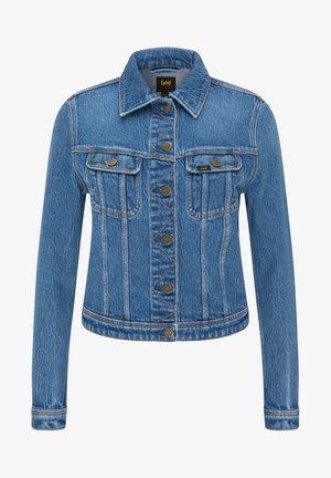RIDER - Veste en jean - worn iris