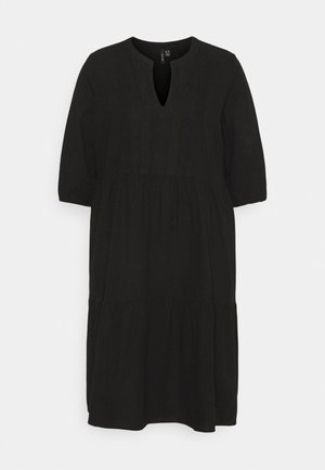 VMMANA ABOVE KNEE DRESS - Korte jurk - black