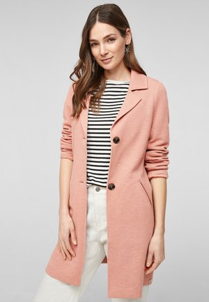 Short coat - blush melange