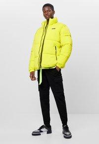Bershka - Winter jacket - green - 1