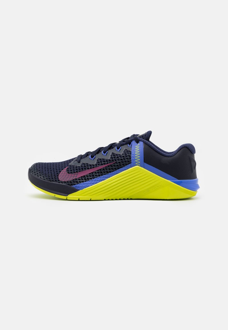 Nike Performance - METCON 6 - Sports shoes - blackened blue/red plum/cyber/sapphire