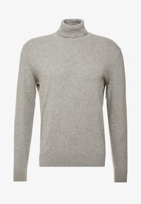 Pier One - Strikpullover /Striktrøjer - mottled light grey - 4
