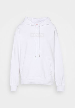 GRAPHIC HOOD - Sweatshirts - white