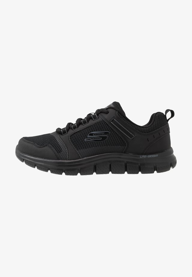 TRACK - Sneakersy niskie - black