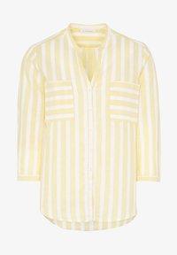 Eterna - MODERN CLASSIC - Blouse - yellow/white - 3
