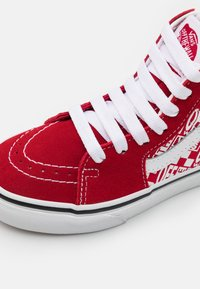 Vans - SK8 UNISEX - High-top trainers - chili pepper/racing red - 5