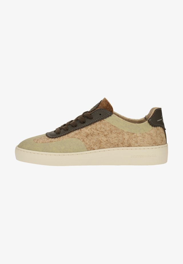 Sneakers laag - natural s27