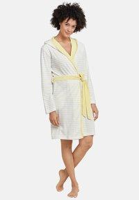 Schiesser - Dressing gown - yellow - 0