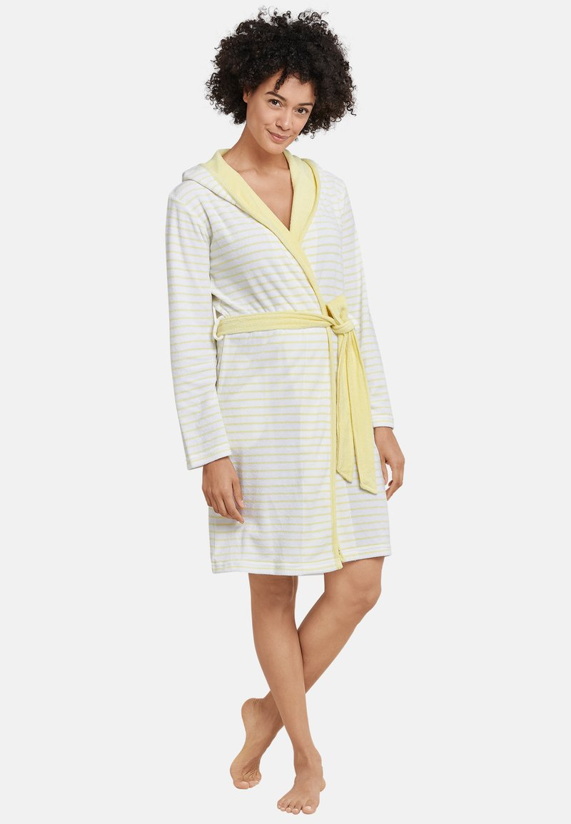 Schiesser - Dressing gown - yellow