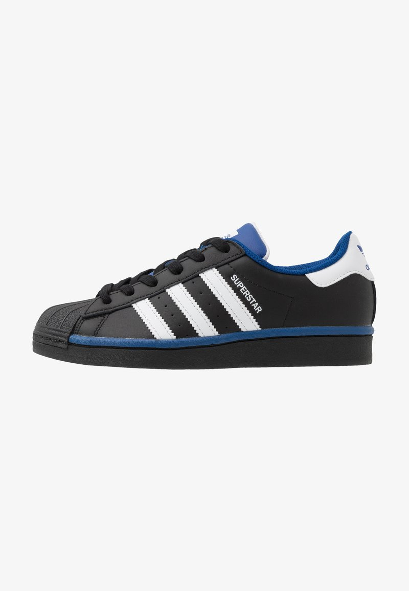 adidas Originals - SUPERSTAR - Sneakers laag - core black/footwear white/collegiate royal