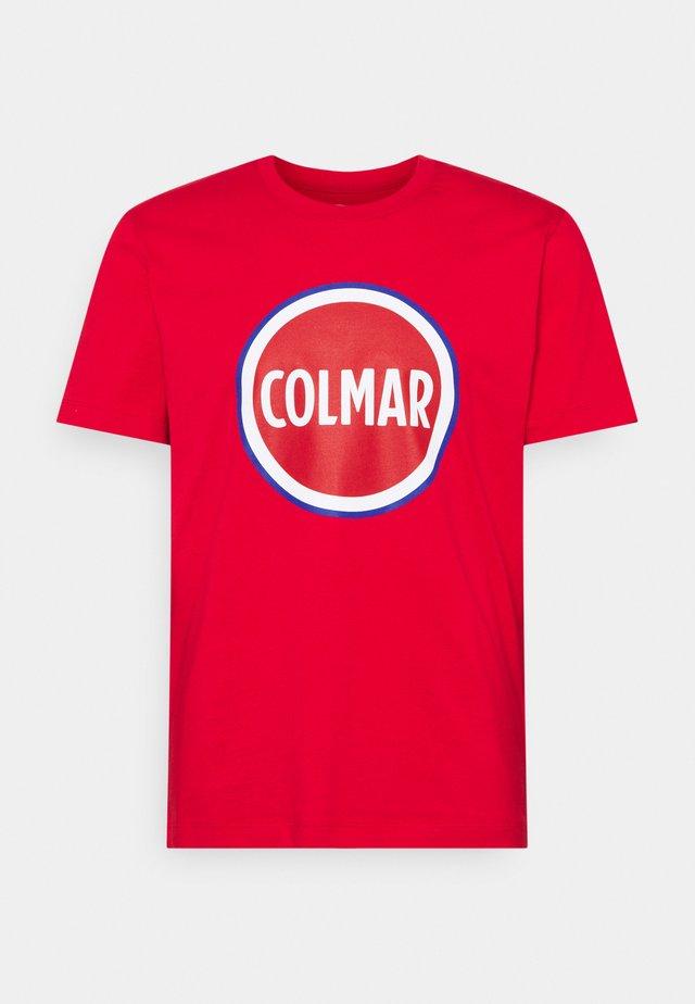 FIFTH - T-shirt imprimé - red