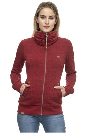 IZOLDA - Zip-up hoodie - red