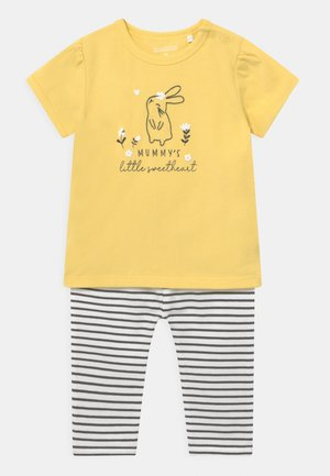 SET - Print T-shirt - yellow
