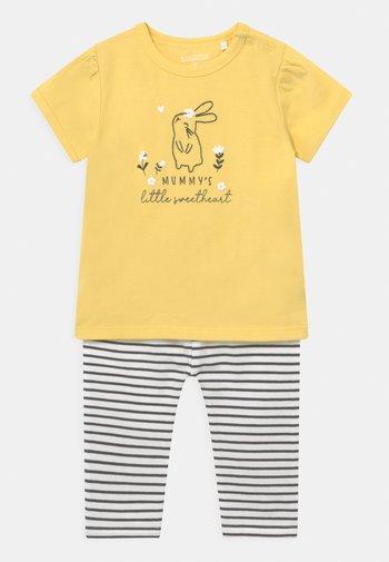 SET - Print T-shirt - yellow