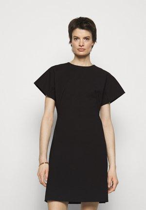 AURA - Jersey dress - black