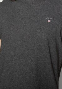 GANT - ORIGINAL - T-shirt - bas - anthracite - 4