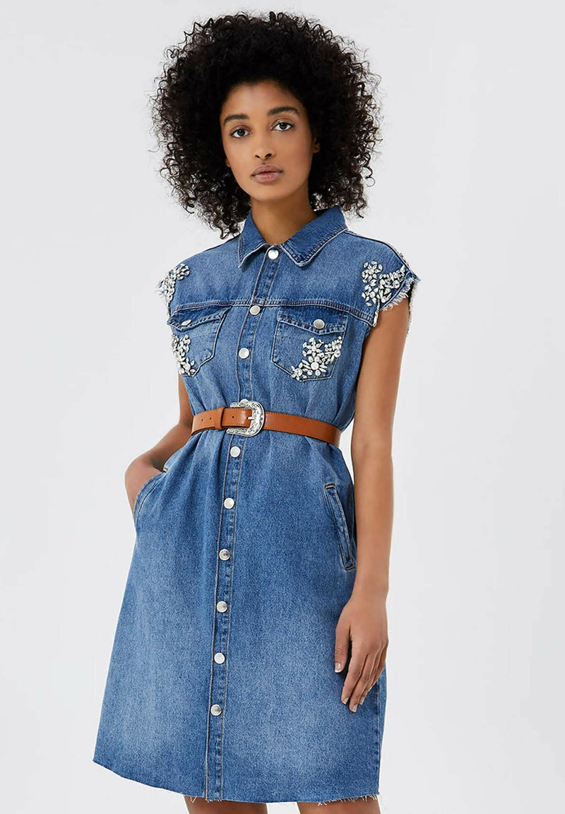 Liu Jo Jeans - Robe en jean - blue denim