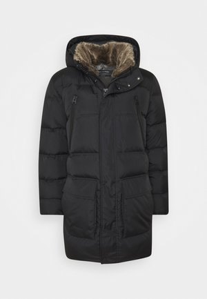 REG FIT FILLED LONGS - Down coat - black