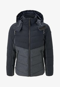 TOM TAILOR - Winter jacket - blue melange structure - 5