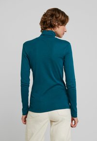 Benetton - TURTLE NECK - Long sleeved top - forest green - 2