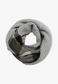 s.Oliver - Snood - grey check - 2