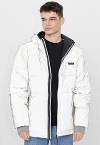 Bershka - Winter jacket - silver - 0