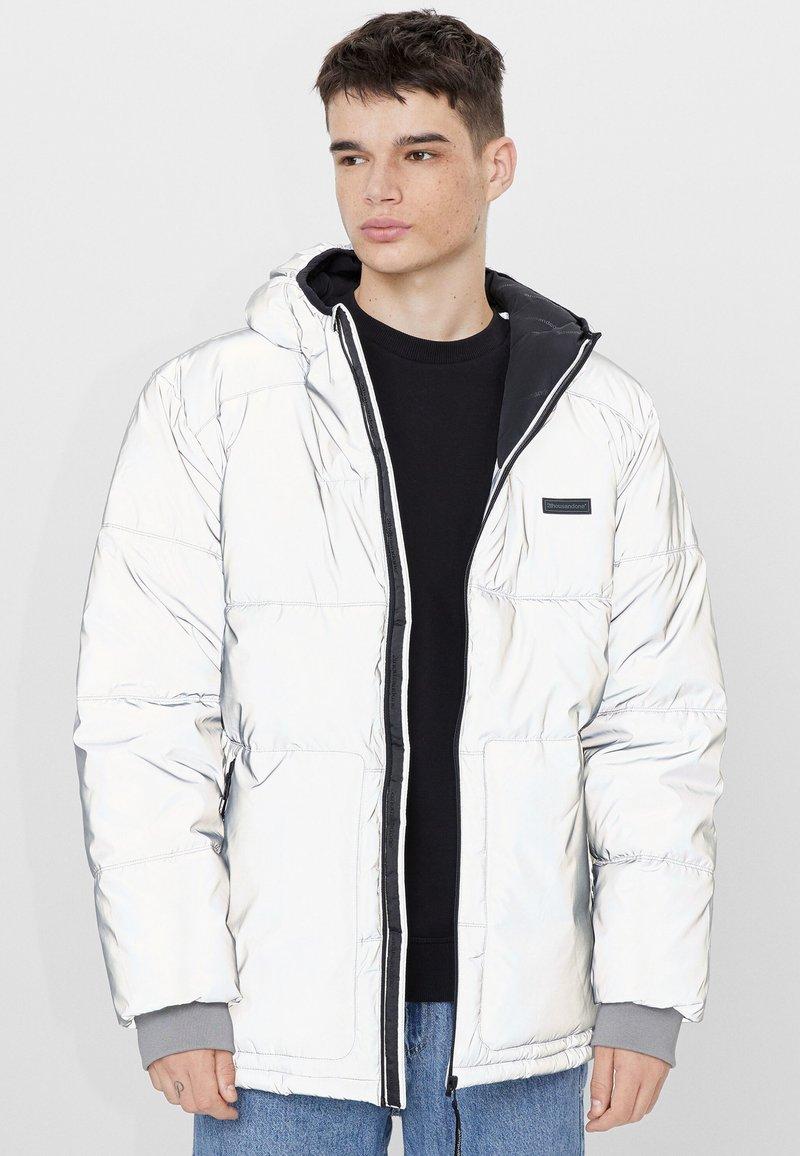Bershka - Winter jacket - silver