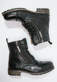 Pepe Jeans - MELTING  - Lace-up ankle boots - black - 1