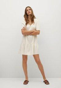Mango - RITA-L - Day dress - beige - 1