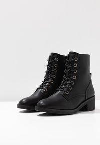 Anna Field - Šněrovací kotníkové boty - black - 4