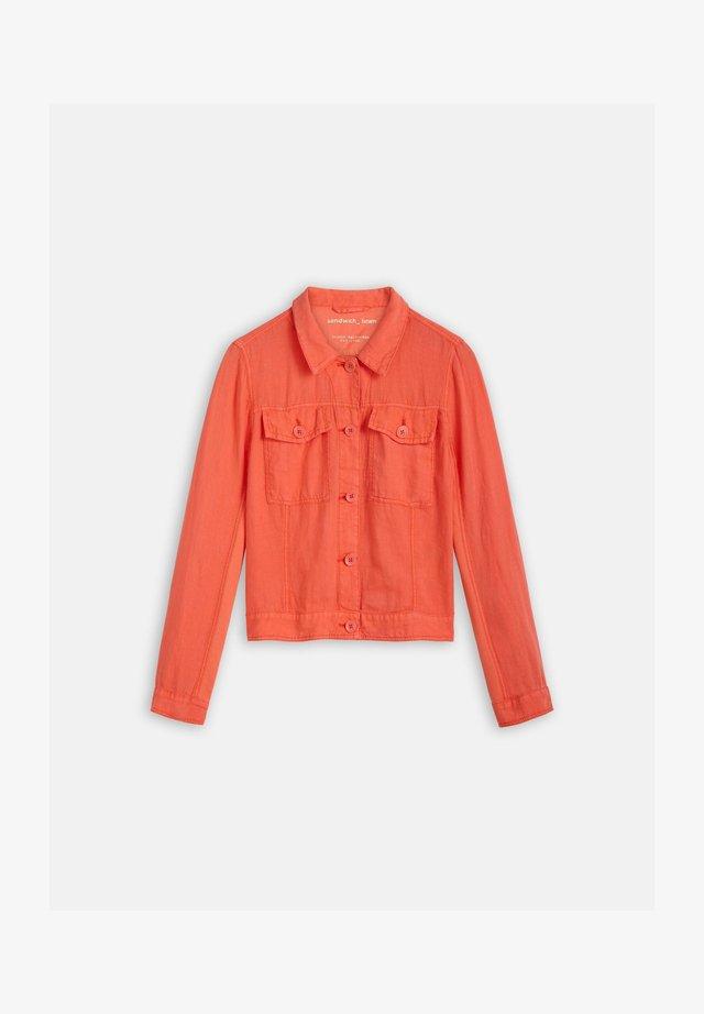 Summer jacket - koralle