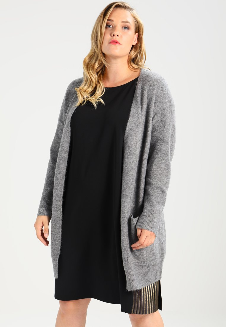 Zalando Essentials Curvy - Neuletakki - light grey melange