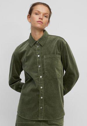CORD AUS STRETCHIGEM - Button-down blouse - olivia gray