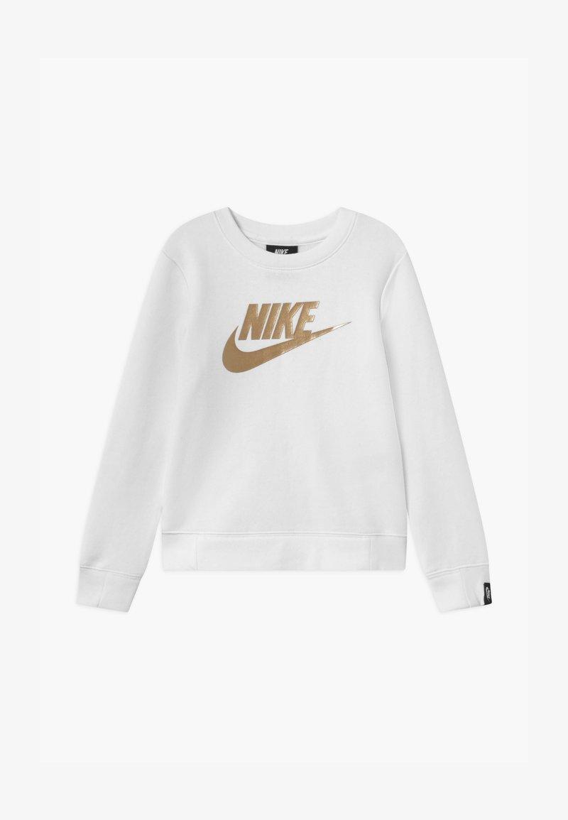 Nike Sportswear - GIRLS CREW - Mikina - white