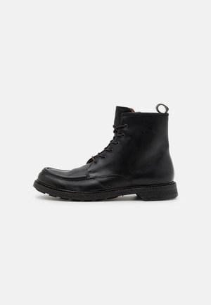 DIVISION - Lace-up ankle boots - nero