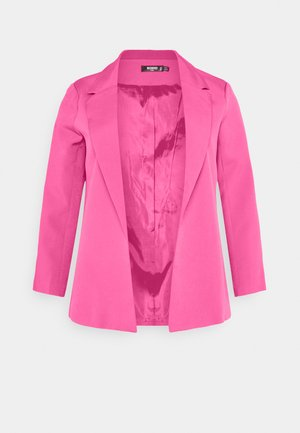 TAILORED BOYFIREND BLAZER - Blazer - hot pink