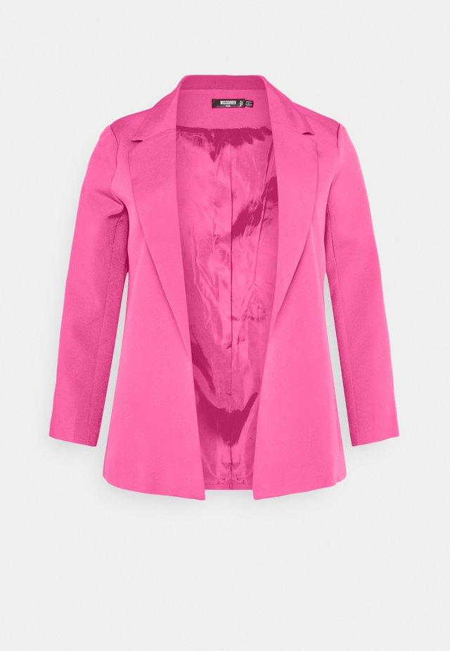 TAILORED BOYFIREND BLAZER - Blazer - hot pink