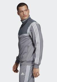 adidas Performance - TIRO 19 PRE-MATCH TRACKSUIT - Träningsjacka - grey/ white - 2