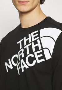 The North Face - SHOULDER LOGO TEE - Long sleeved top - black - 5