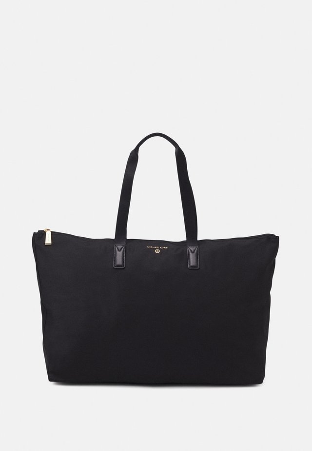 JET SET PACKABLE TOTE - Shopping bag - black