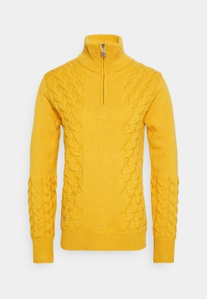 ALONDRA  UNLINED - Sweter - amber
